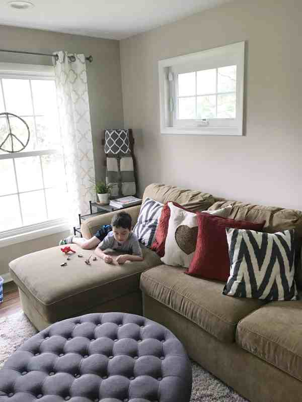 Farmhouse Family Room Decor
