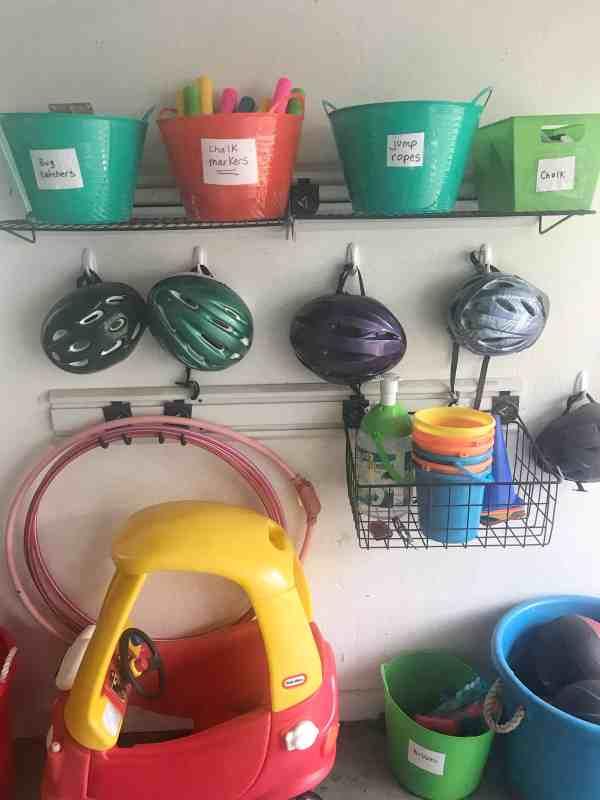 Organized Garage on a Budget