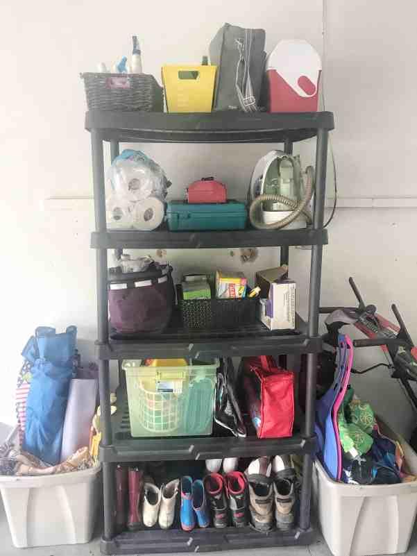 Invest in Shelves for Garage Organization