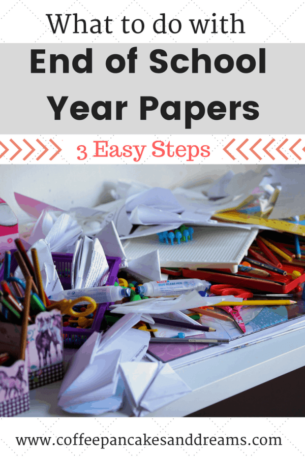 School Paperwork Organization #school #paperorganization #cleartheclutter #endofschoolyear