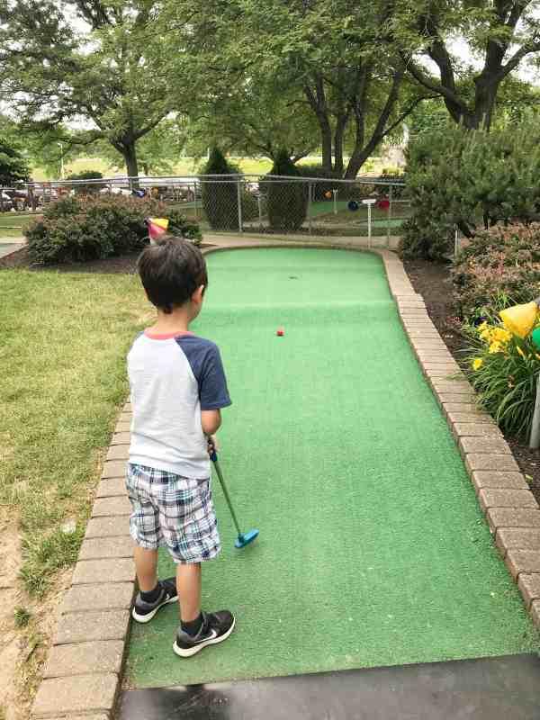 Miniature Golf at Swings N Things