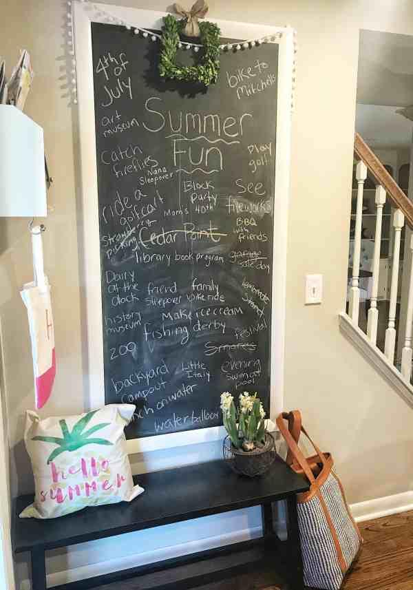 Summer Fun List
