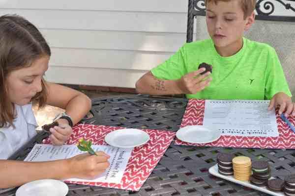 Oreo Taste Test Fun *Free downloadable ballot #kids #free #easy