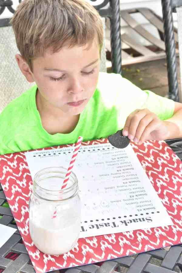 Cookie Taste Test with Kids #rainydayactivity #kids #food