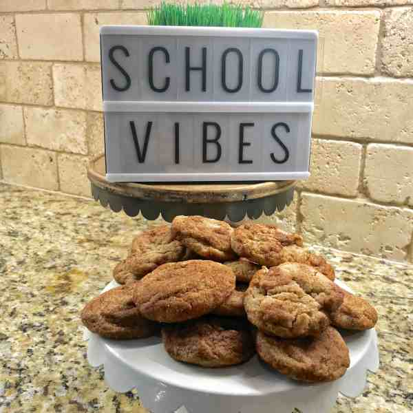 Make cookies for kids' first day of school #traditions #backtoschool #kids #family