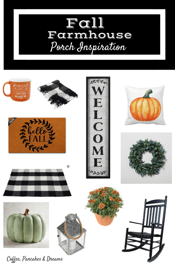 Farmhouse Inspired Ideas for Your Fall Porch #fixerupperstyle #falldecor #fallporch #farmhousestyle