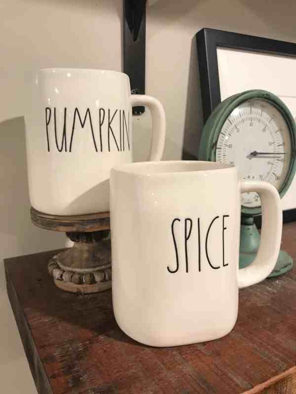 Rae Dunn Pumpkin and Spice Mug Set #raedunnfall #raedunnfinds#raedunnlove