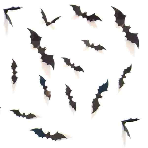 Halloween Bat Wall Decor #batwall #walldecor #halloweendecor
