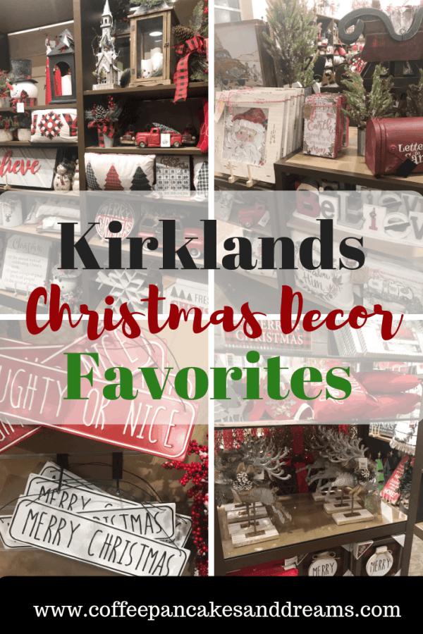 Christmas Home Decor at Kirklands #farmhousedecor#christmasdecor #farmhousechristmas #holidaydecorating