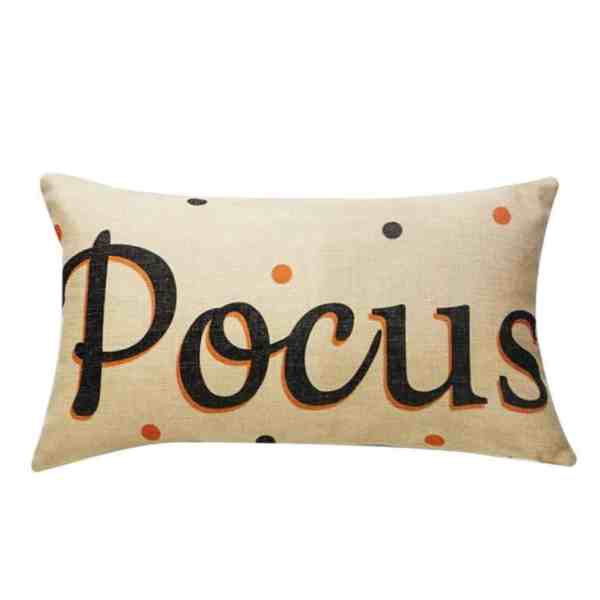 Hocus Pocus Pillow cover #halloweendecor #farmhouse #falldecor #halloween