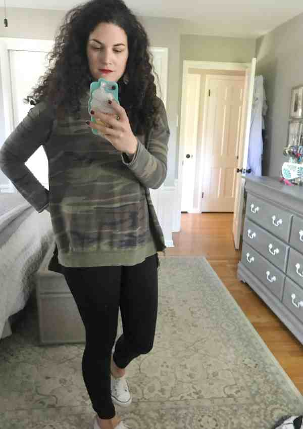 Casual Fall Fashion ideas #outfits #momstyle #trends #camo