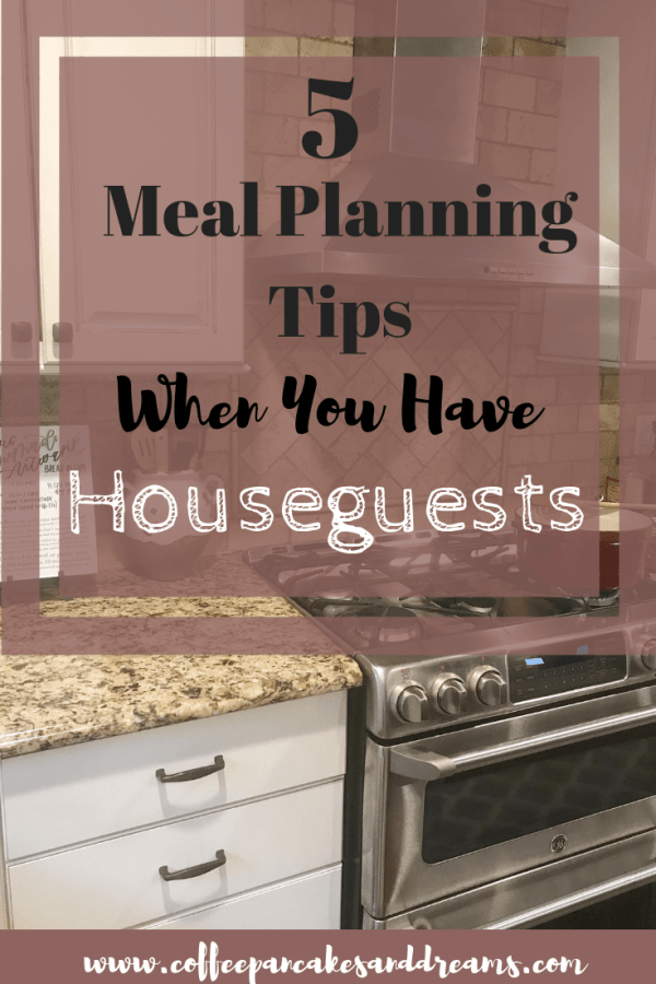 Meal Planning for when you have visitors #sponsored #familydinners #mealideas