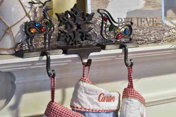 Farmhouse Christmas Home Decor Tour #fixerupperstyle #vintage #shabbychic