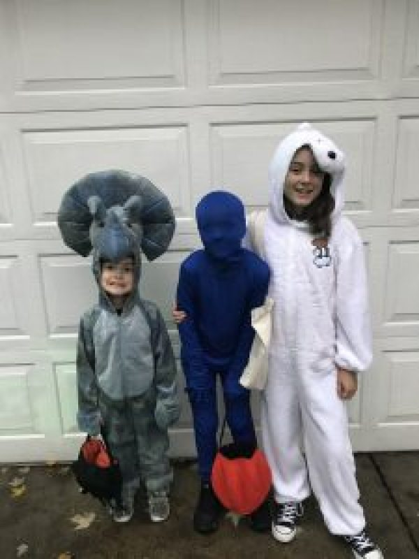When Halloween doesn't go as planned #motherhood #kids
