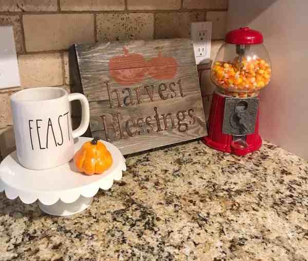 Thanksgiving Home Decor Ideas #farmhouse #harvest #falldecor