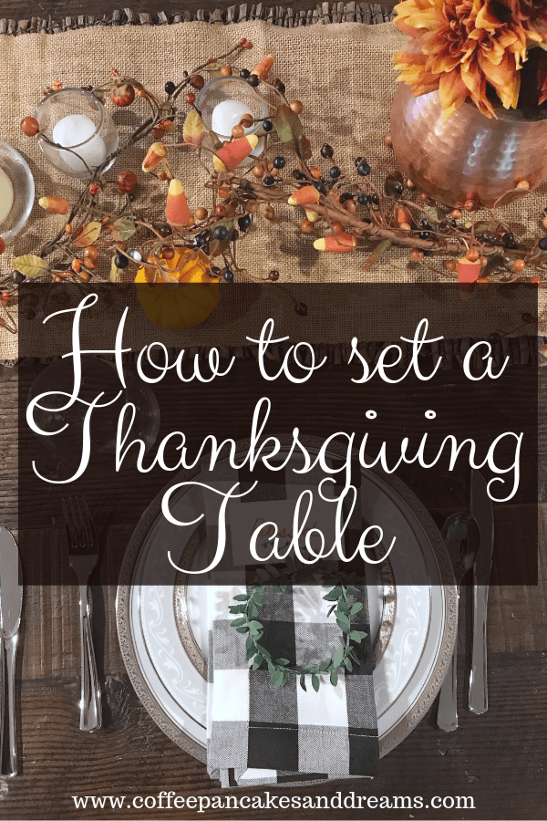 Thanksgiving Table Decorations #inexpensive #simple #rustic #farmhouse