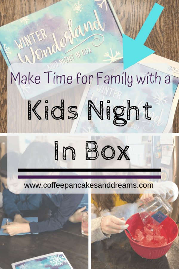 Review of the Kids Night in Subscription Box #winteractivities #unboxing #affliliate