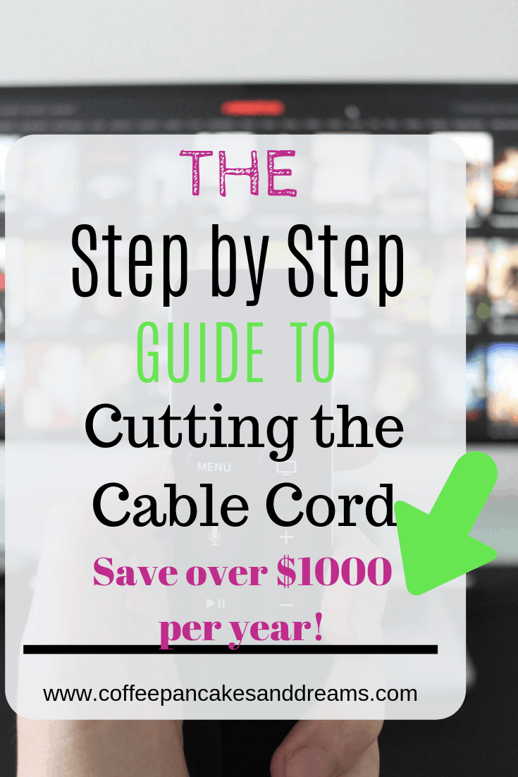 Simple steps for cutting cable #cablecord #moneysaving #howto #diy