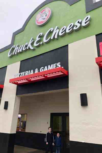 Grand Reopening at Chuck E. Cheese's #sponsored #games #parties