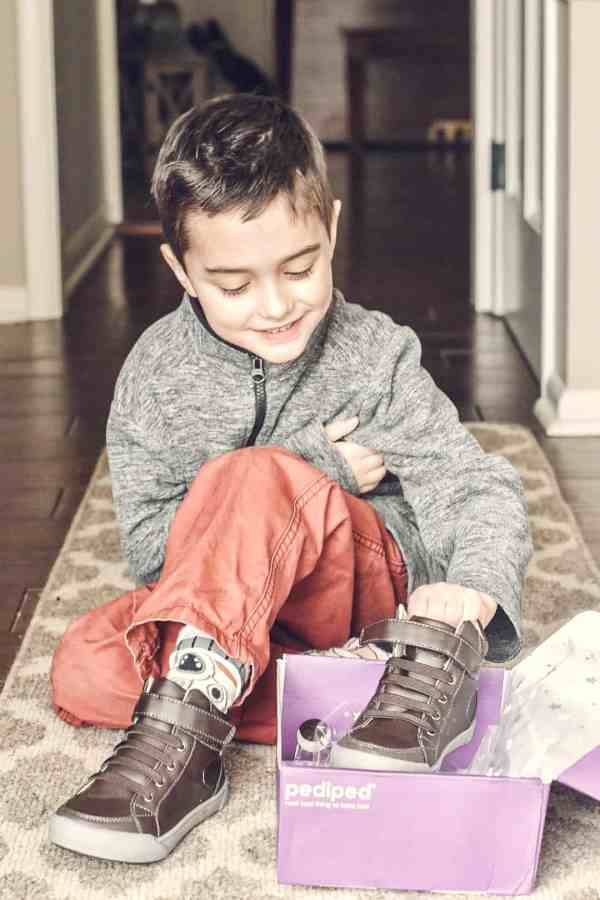 Best shoes for kids #pediped #sponsored #boysshoes