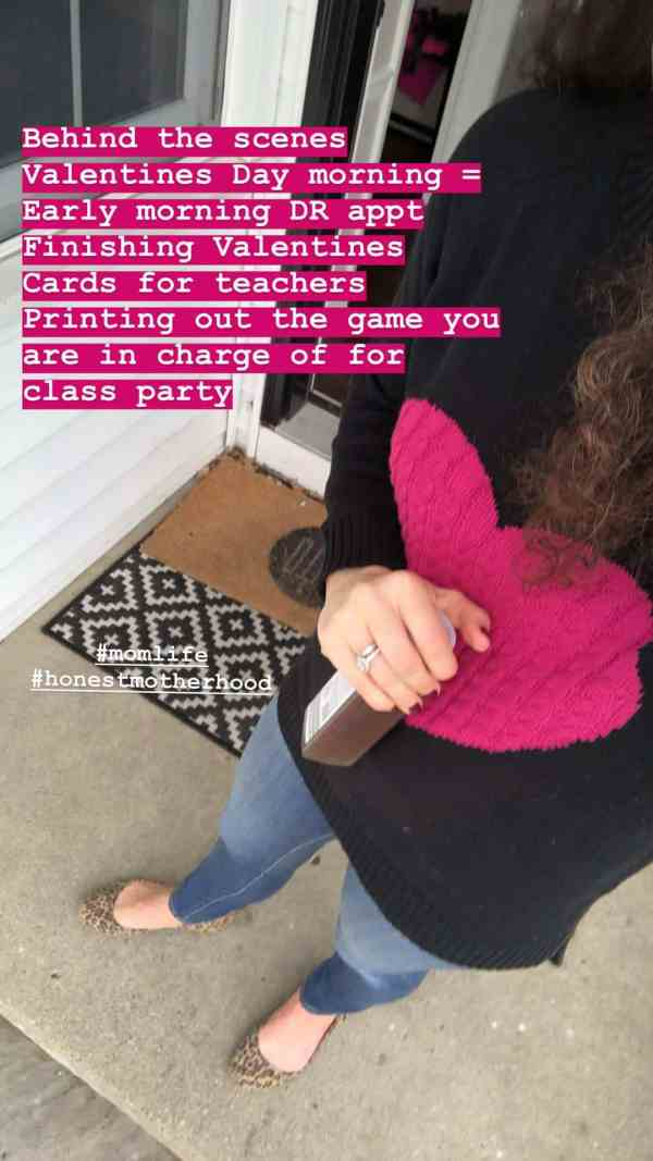 Valentine's Day Heart Sweater #momstyle #valentinesoutfit #amazonstyle