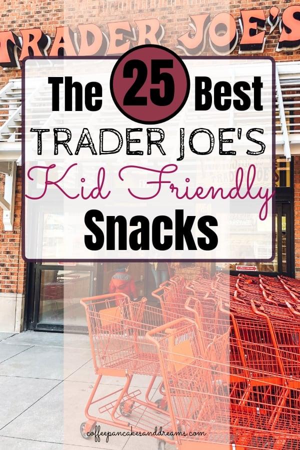 Free printable Trader Joe's Snacks #kidfriendly #shoppinglist #family