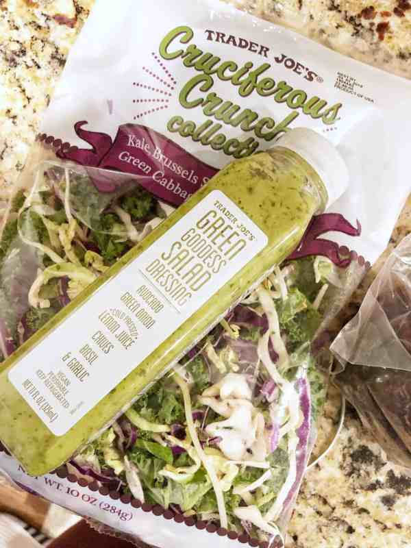 Healthy Trader Joe's favorites #lunchideas #healthyeating #shoppinglist