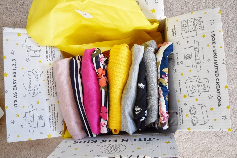 Stitch Fix Kids Clothing Box Review 2019 #kidsbox #kidstyle #fashionforkids