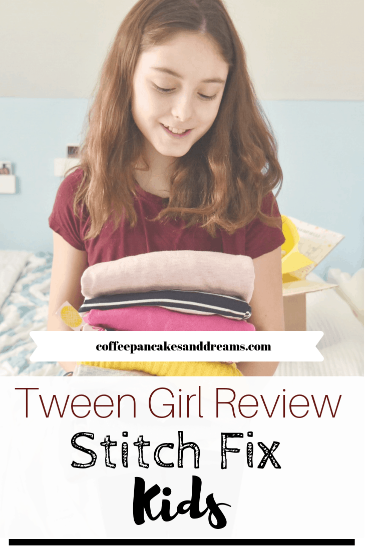 Stitch Fix Kids Girls Review #tweens #outfits #unboxing