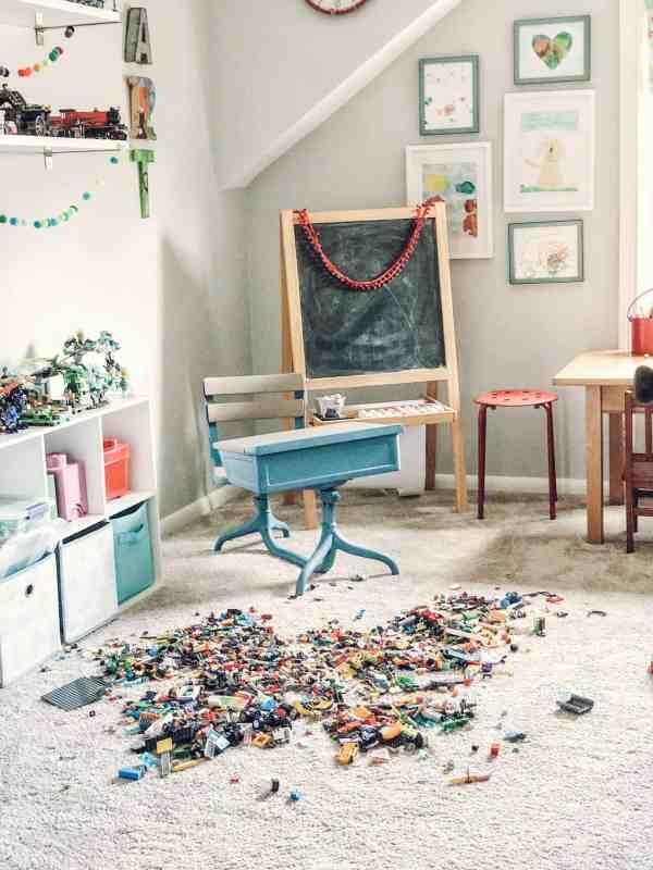 Lego Storage Ideas #organization #playroom #legos