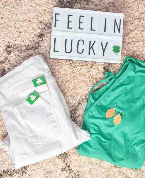 St. Patrick's Day outfit inspiration #stpatricksdaytees #stpatricksdaystyle #tops