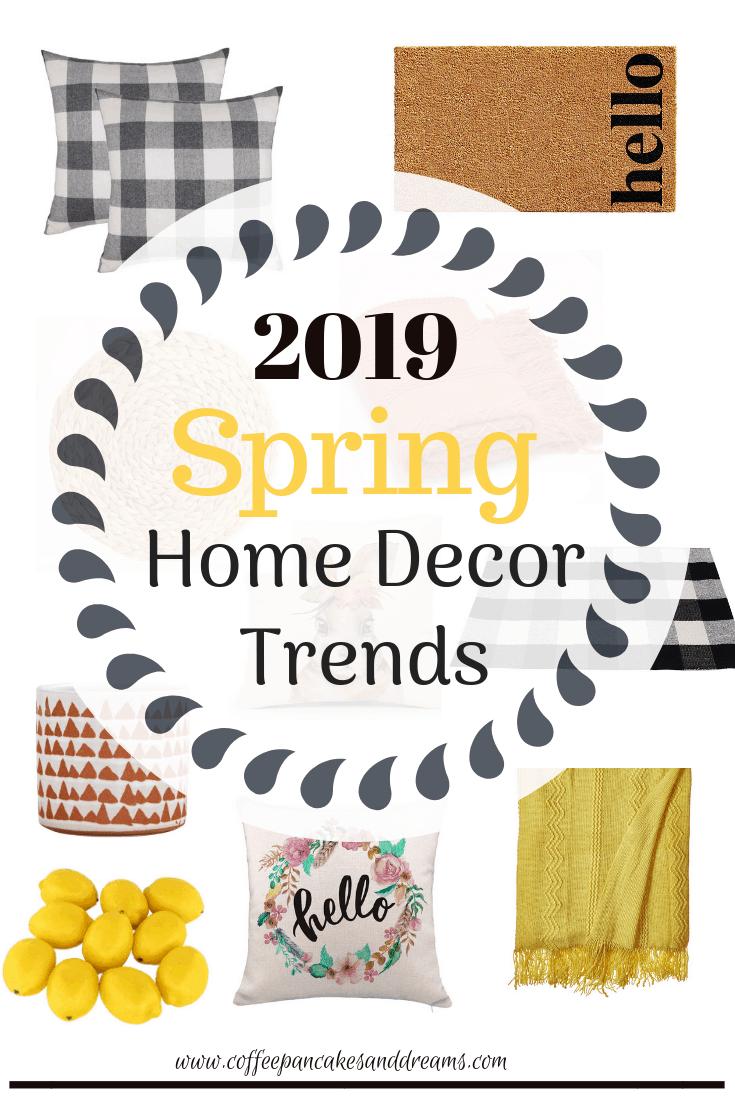 Spring Home Decor Ideas 2019 #farmhouse #inexpensive #rustic