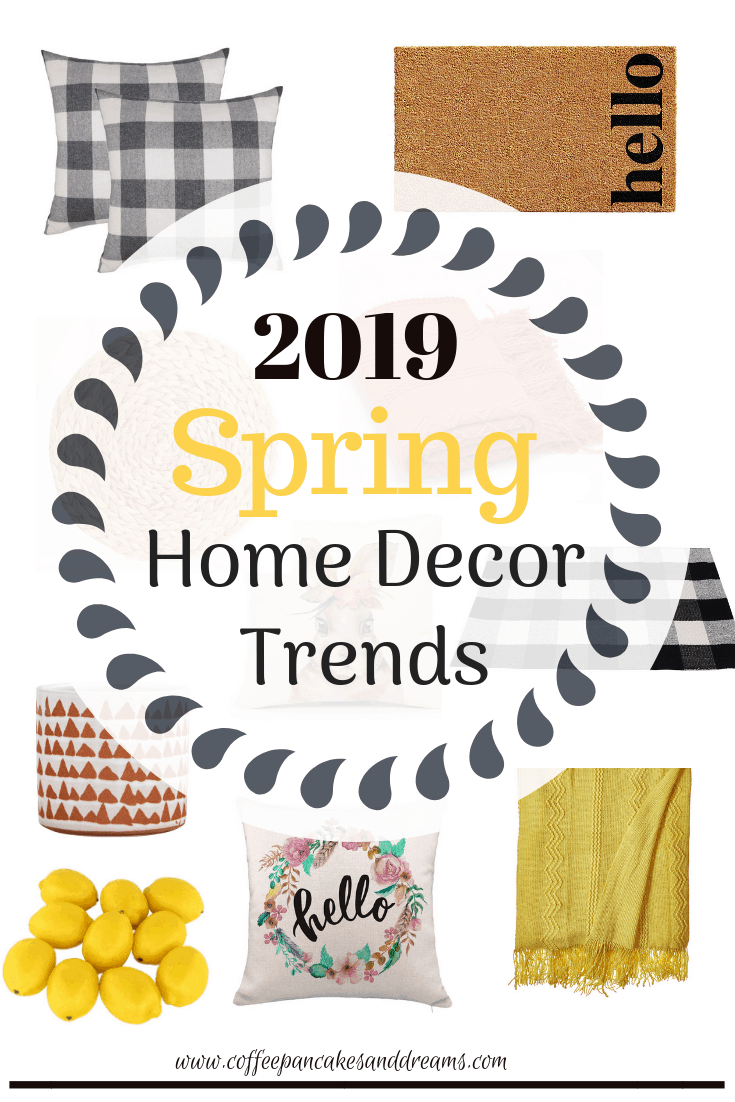 Spring Home Decor Ideas 2019 #farmhouse #inexpensive #rustic