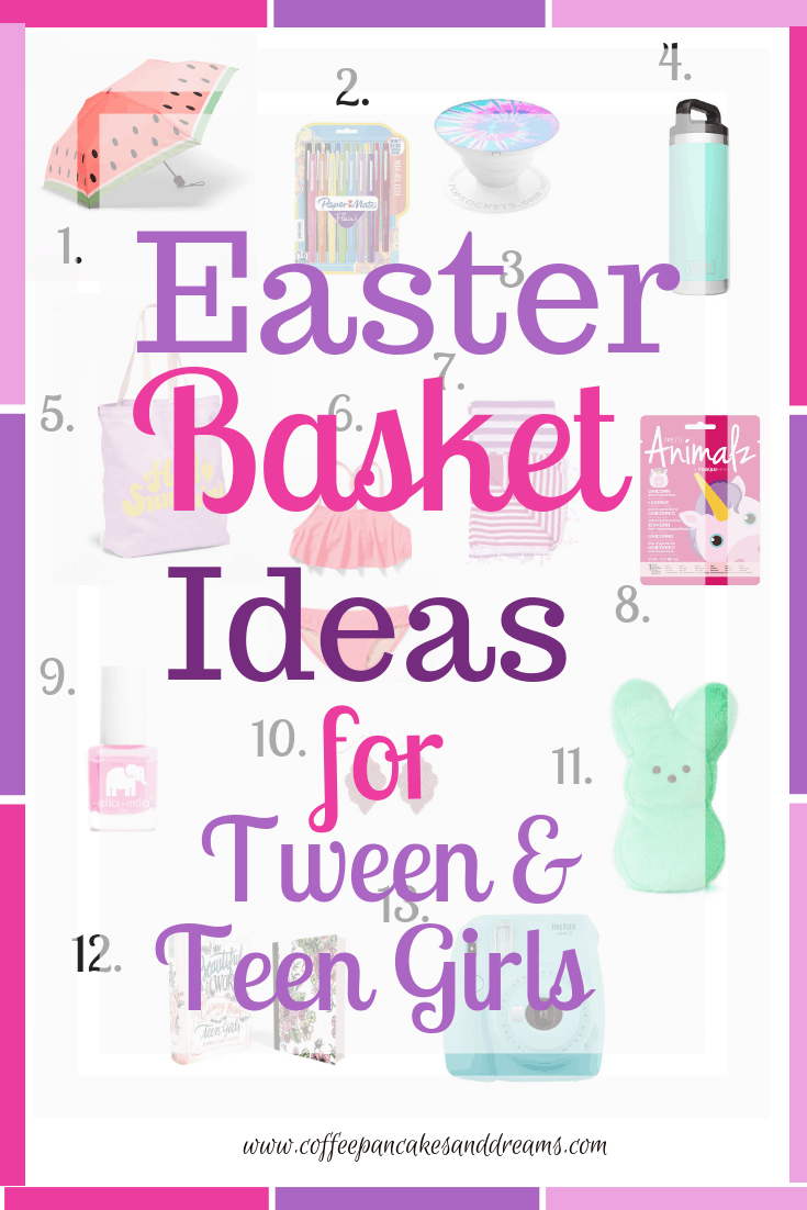2021 Easter Basket Ideas for Tweens and Teens #giftideas #under20 #inexpensive #cute