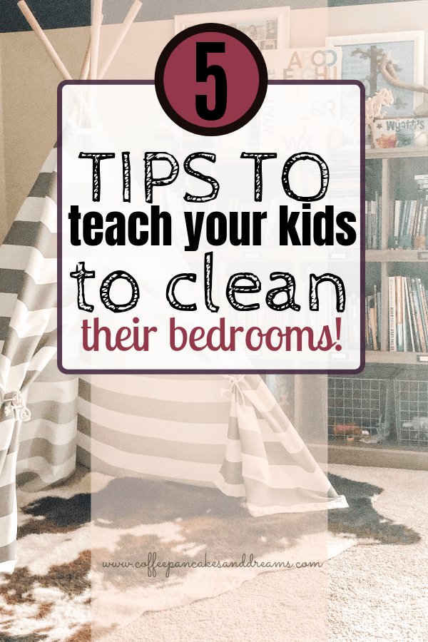 How to keep your kids rooms clean #checklist #organization #tips #declutter #storage #cleaning