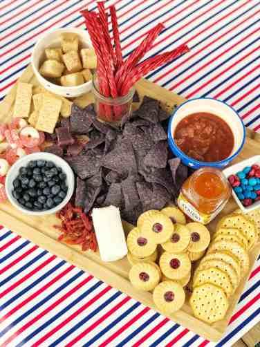 Appetizer Idea for Summer Entertaining #4thofjuly #memorialday #redwhiteblue #patrioticthemed