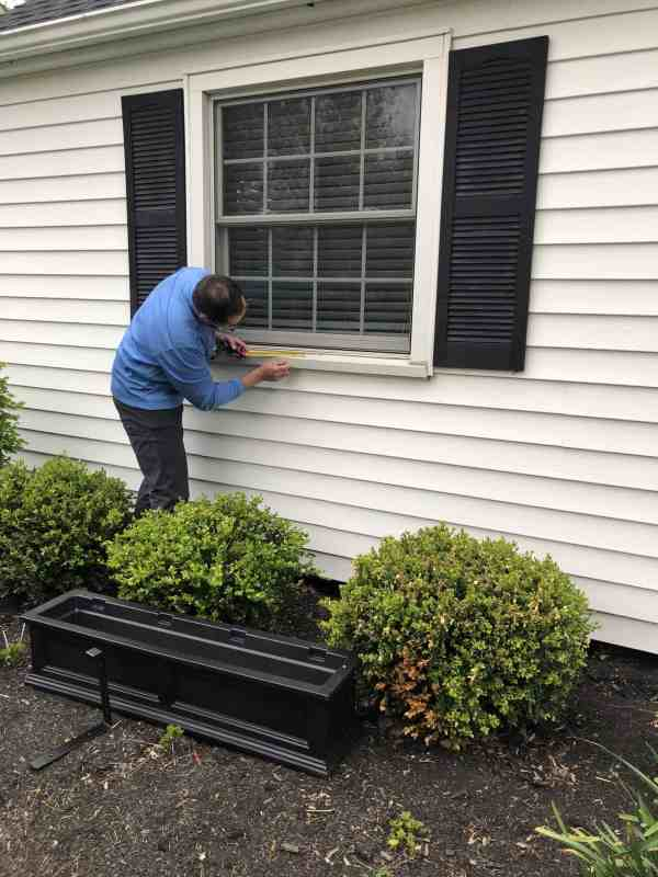 how to install window boxes