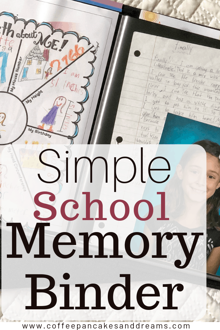 How to make a School Memory Binder #paperorganization #kids #schoolpapers #organization