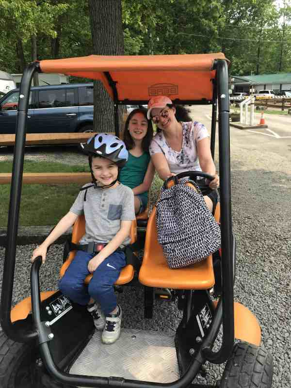 Review Yogi Bear's Jellystone Park at Kozy Rest #ohio #Pennsylvania #camping