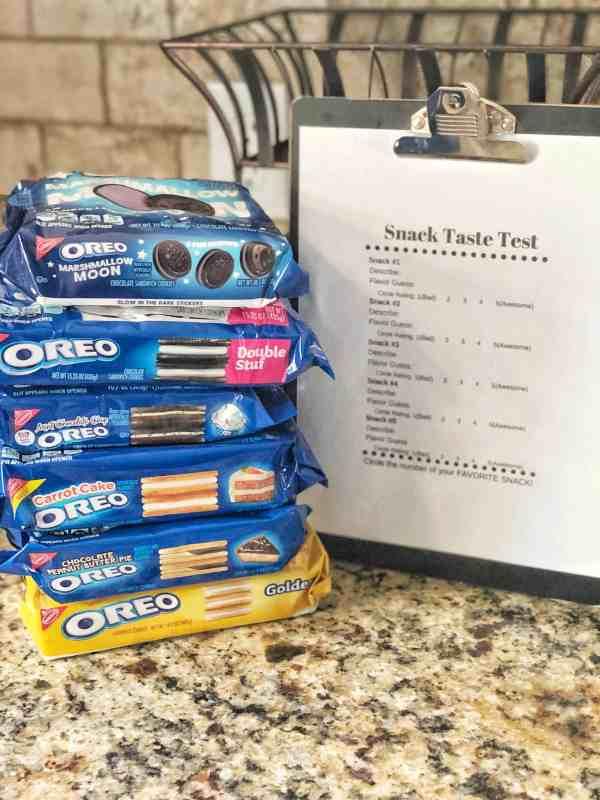 Oreo cookie taste test #ballot #summeractivities