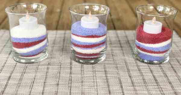 4th of July Centerpiece idea #redwhiteplue #independanceday #party #outdoordecor