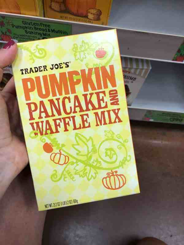 What to get at Trader Joes this fall #fallrecipes #shoppinglist #printable