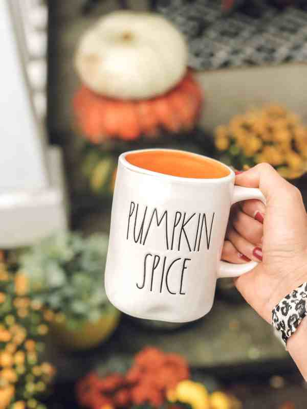 Pumpkin Spice Rae Dunn Mug