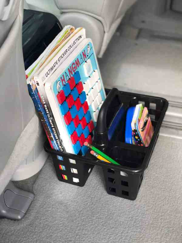 How to organize your car when you have kids #organization #decluttering #momhacks