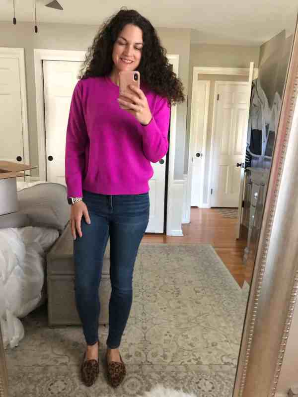 Hot Purple Sweater from Evereve Trendsend #falloutfits #tops #casual