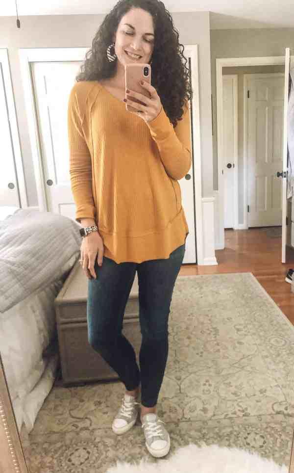 Casual Fall Outfit Idea