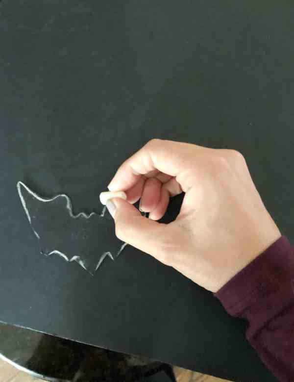 how to make paper bats for halloween