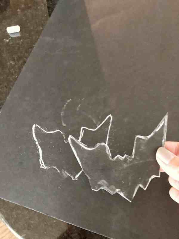 DIY Halloween Bats for Wall Decor