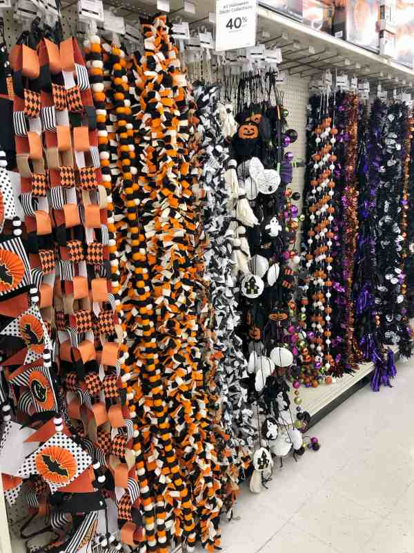 Halloween Garlands #farmhouse #halloweendecor #michaels #fixerupper