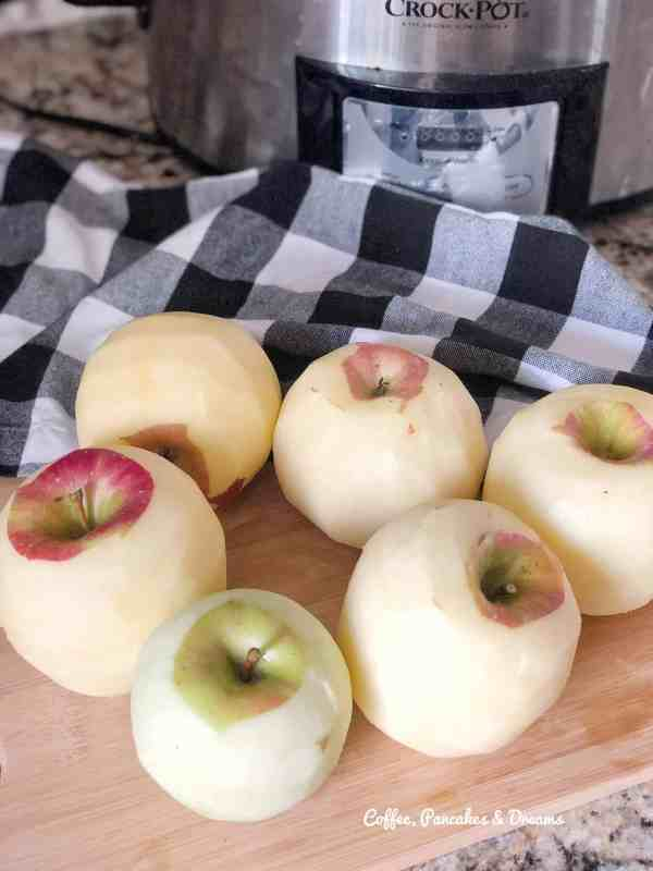 Easy homemade applesauce in crockpot